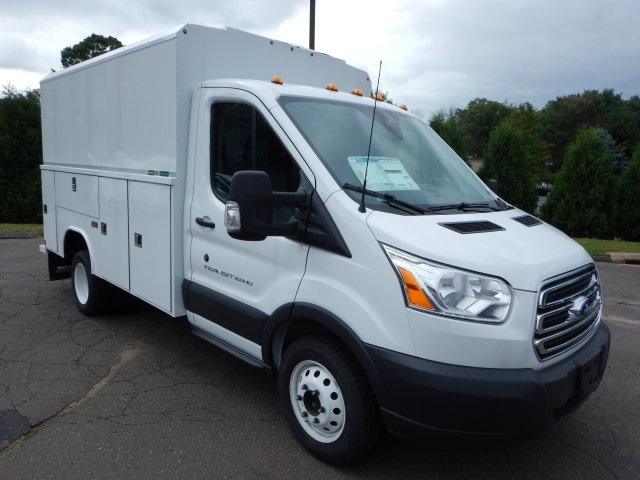 2018 Transit 350 HD DRW 4x2,  Service Utility Van #45588 - photo 3