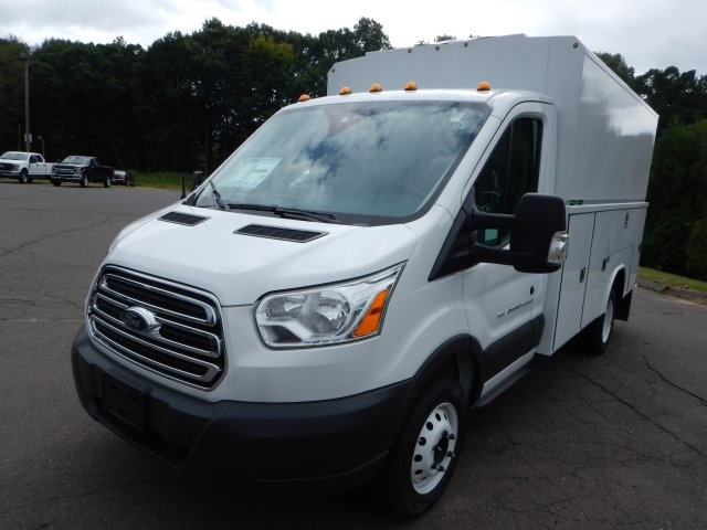 2018 Transit 350 HD DRW 4x2,  Service Utility Van #45588 - photo 8