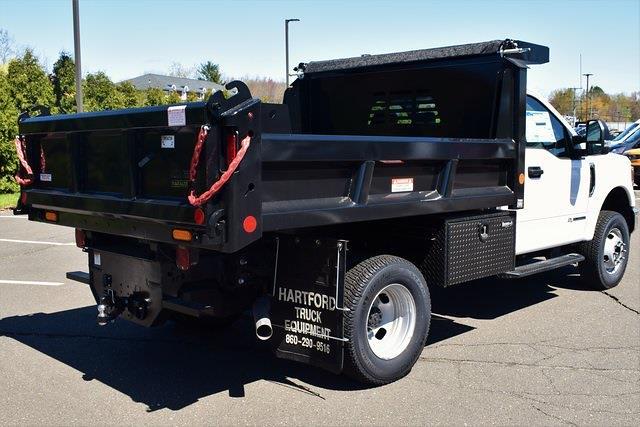 2021 Ford F-350 Regular Cab DRW 4x4, Reading Marauder Dump Body #47439 - photo 2
