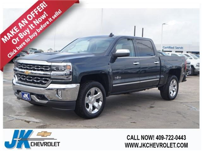 2018 Silverado 1500 Crew Cab 4x4,  Pickup #JG187549 - photo 1
