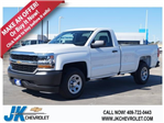 2018 Silverado 1500 Regular Cab 4x2,  Pickup #JZ210431 - photo 1