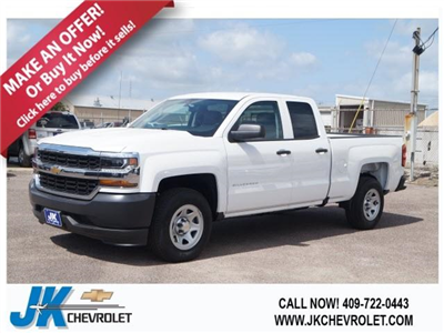 2018 Silverado 1500 Double Cab 4x2,  Pickup #JZ227541 - photo 1