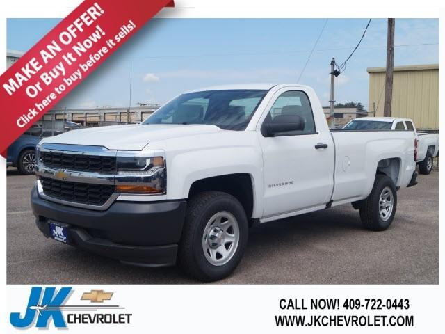 2018 Silverado 1500 Regular Cab 4x2,  Pickup #JZ239549 - photo 1