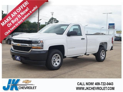 2018 Silverado 1500 Regular Cab 4x2,  Pickup #JZ240135 - photo 1