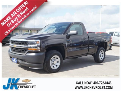2018 Silverado 1500 Regular Cab 4x2,  Pickup #JZ257632 - photo 1