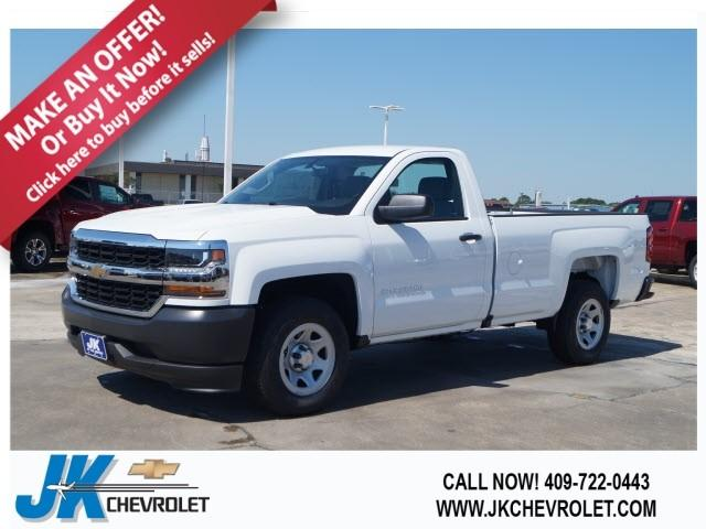 2018 Silverado 1500 Regular Cab 4x2,  Pickup #JZ269519 - photo 1