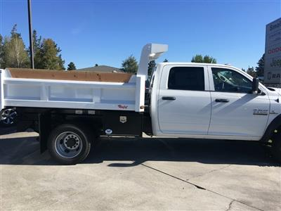 2018 Ram 5500 Crew Cab DRW 4x4,  Rugby Dump Body #DT17637 - photo 7