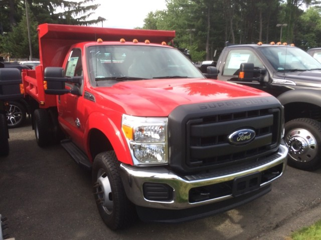 2015 F-350 Regular Cab DRW 4x4, Reading Marauder SL Dump Dump Body #S1466 - photo 3