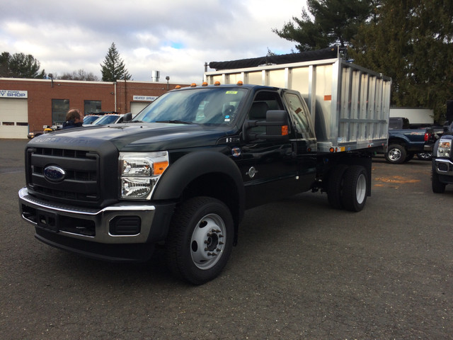 2016 F-550 Super Cab DRW 4x4, Dejana Truck & Utility Equipment MAXScaper Landscape Dump #T1724 - photo 1