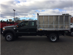 2016 F-550 Super Cab DRW 4x4, Dejana Truck & Utility Equipment MAXScaper Landscape Dump #T1724 - photo 4