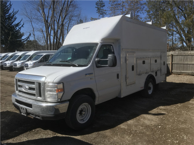 2018 E-350 4x2,  Rockport Workport Service Utility Van #X0371 - photo 3