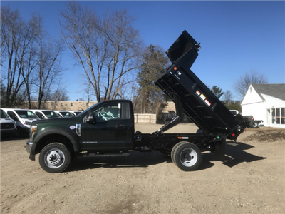 2018 F-550 Regular Cab DRW 4x4,  Reading Marauder Standard Duty Dump Body #X0392 - photo 3