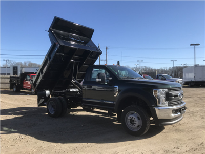 2018 F-550 Regular Cab DRW 4x4,  Reading Marauder Standard Duty Dump Body #X0392 - photo 1