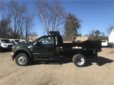 2018 F-550 Regular Cab DRW 4x4, Reading Marauder Standard Duty Dump Dump Body #X0392 - photo 9
