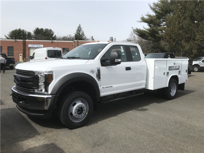 2018 F-550 Super Cab DRW 4x4,  Reading Classic II Steel Service Body #X0393 - photo 1