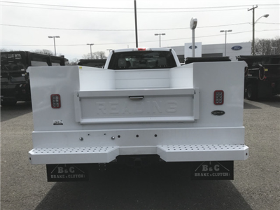 2018 F-550 Super Cab DRW 4x4,  Reading Classic II Steel Service Body #X0393 - photo 5