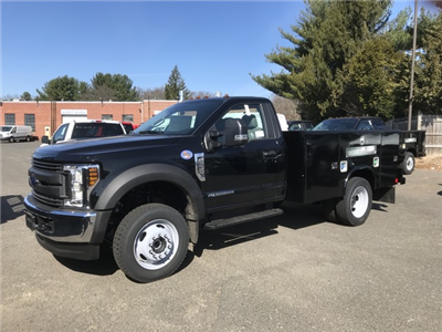 2018 F-550 Regular Cab DRW 4x4,  Reading Classic II Steel Service Body #X0459 - photo 1