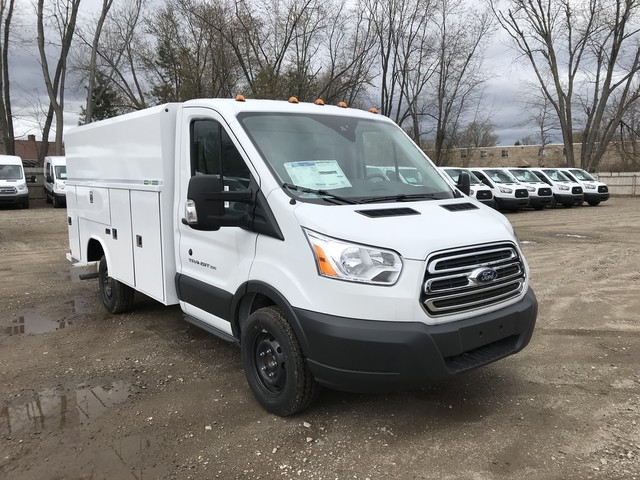 2018 Transit 350 4x2,  Reading Aluminum CSV Service Utility Van #X0499 - photo 3