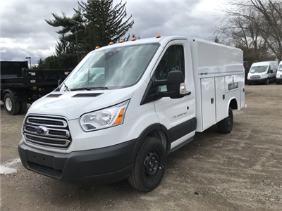 2018 Transit 350 4x2,  Reading Aluminum CSV Service Utility Van #X0499 - photo 4