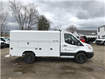2018 Transit 350 4x2,  Reading Aluminum CSV Service Utility Van #X0499 - photo 1