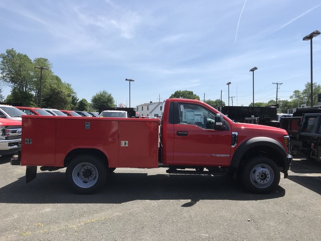 2018 F-550 Regular Cab DRW 4x4,  Reading Classic II Steel Service Body #X0663 - photo 5