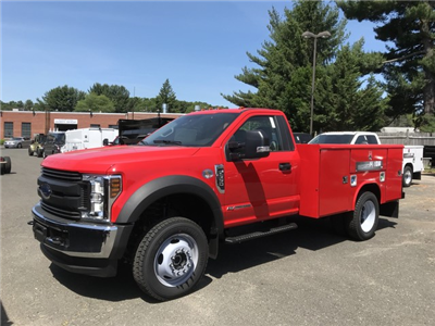 2018 F-550 Regular Cab DRW 4x4,  Reading Classic II Steel Service Body #X0663 - photo 4