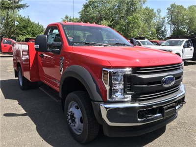 2018 F-550 Regular Cab DRW 4x4,  Reading Classic II Steel Service Body #X0663 - photo 1