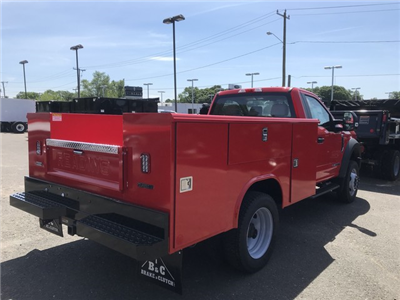2018 F-550 Regular Cab DRW 4x4,  Reading Classic II Steel Service Body #X0663 - photo 2