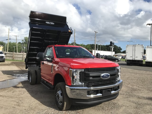 2018 F-350 Regular Cab DRW 4x4,  Rugby Eliminator LP Steel Dump Body #X0796 - photo 1