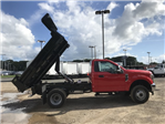 2018 F-350 Regular Cab DRW 4x4,  Rugby Eliminator LP Steel Dump Body #X0796 - photo 2