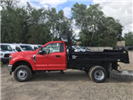 2018 F-350 Regular Cab DRW 4x4,  Rugby Eliminator LP Steel Dump Body #X0796 - photo 8