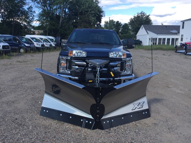 2018 F-350 Super Cab 4x4,  Fisher Snowplow Pickup #X0904 - photo 3