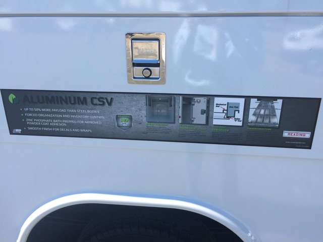 2018 Transit 350 4x2, Reading Aluminum CSV Service Utility Van #X1028 - photo 36