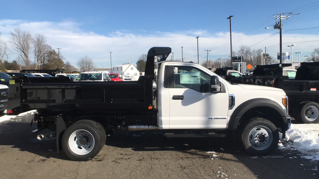 2019 Ford F-550 Regular Cab DRW 4x4, Rugby Dump Body #Y1553 - photo 1