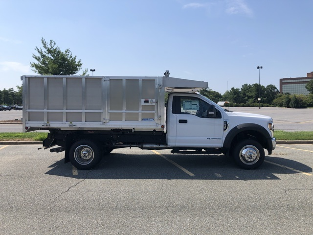 2019 F-450 Regular Cab DRW 4x2,  Dejana MAXScaper Landscape Dump #CDA02721 - photo 1