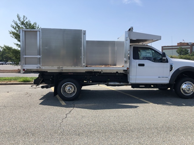2019 F-450 Regular Cab DRW 4x2,  Dejana MAXScaper Landscape Dump #CDA02721 - photo 8