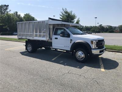 2019 F-450 Regular Cab DRW 4x2,  Dejana MAXScaper Landscape Dump #CDA02721 - photo 4