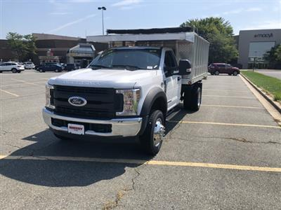 2019 F-450 Regular Cab DRW 4x2,  Dejana MAXScaper Landscape Dump #CDA02721 - photo 3