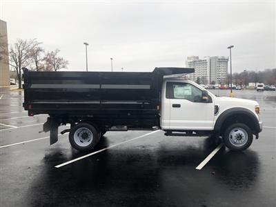 2019 F-550 Regular Cab DRW 4x4, Rugby Landscape Dump #CDA17901 - photo 4