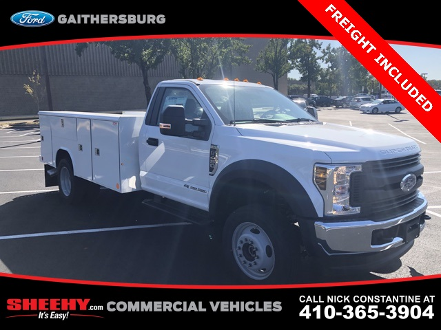 2019 F-450 Regular Cab DRW 4x4, Reading Service Body #CDA27084 - photo 1