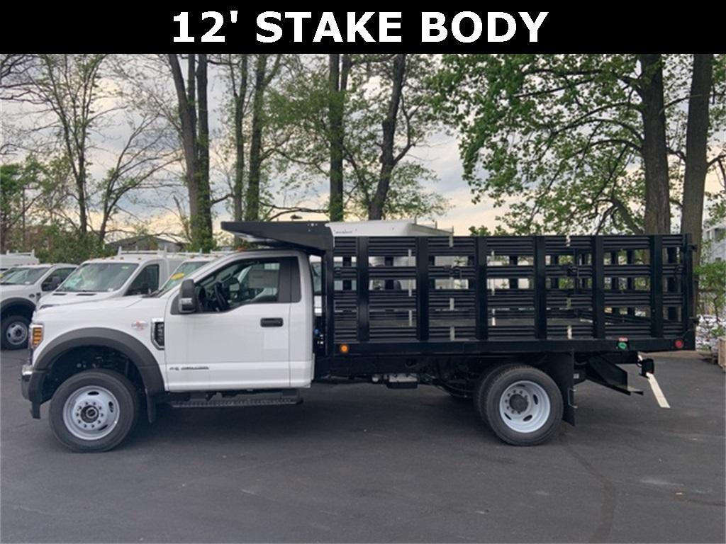 2019 F-550 Regular Cab DRW 4x4, Freedom Workhorse Stake Bed #CDA27295 - photo 3