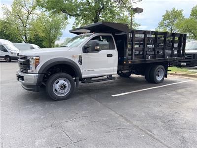 2019 Ford F-550 Regular Cab DRW 4x4, Freedom Workhorse Stake Bed #CDA27295 - photo 15