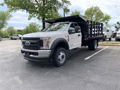 2019 Ford F-550 Regular Cab DRW 4x4, Freedom Workhorse Stake Bed #CDA27295 - photo 16