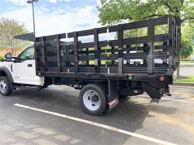 2019 Ford F-550 Regular Cab DRW 4x4, Freedom Workhorse Stake Bed #CDA27295 - photo 18