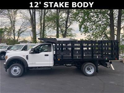 2019 Ford F-550 Regular Cab DRW 4x4, Freedom Workhorse Stake Bed #CDA27295 - photo 3