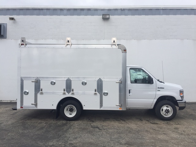 2018 E-350, Dejana Truck & Utility Equipment Service Utility Van #CDC13187 - photo 3