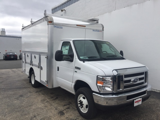 2018 E-350, Dejana Truck & Utility Equipment Service Utility Van #CDC13187 - photo 4