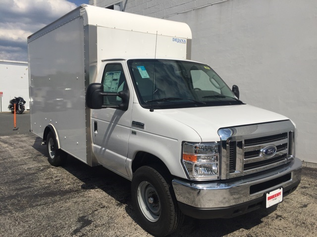 2018 E-350 4x2,  Dejana Truck & Utility Equipment Cutaway Van #CDC21709 - photo 4
