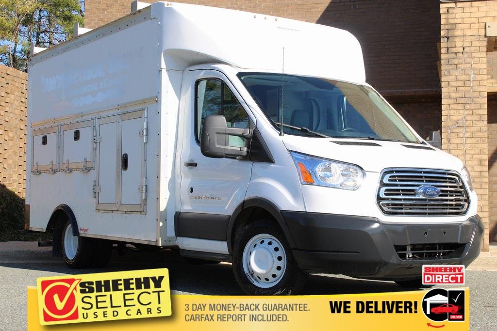 2016 Ford Transit 350 HD DRW 4x2, Rockport Service Utility Van #CDC3559A - photo 1