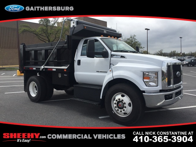 2019 F-650 Regular Cab DRW 4x2,  Godwin 300T Dump Body #CDF06194 - photo 3